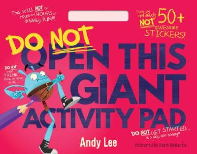 Do Not Open This - Giant Activity Pad by