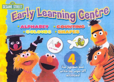 Sesame Street Early Learning Puzzle by Aafiv