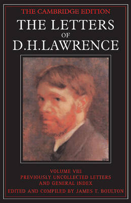 The The Letters of D.H. Lawrence by D. H. Lawrence