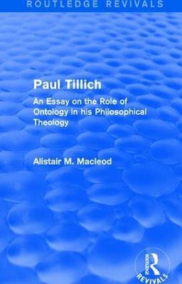: Paul Tillich (1973) book