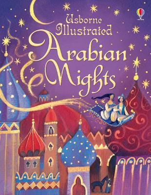 Illustrated Arabian Nights book