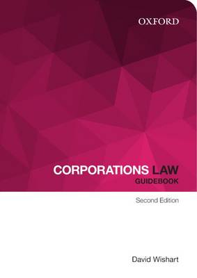 Corporations Law Guidebook by David Wishart