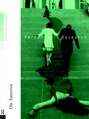Performance Research: On America by Claire MacDonald