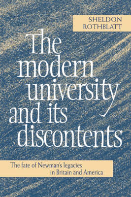 Modern University and its Discontents book