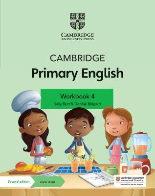 Cambridge Primary English Workbook 4 with Digital Access (1 Year) by Sally Burt