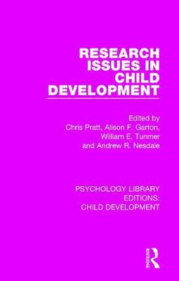 Research Issues in Child Development by Alison F. Garton