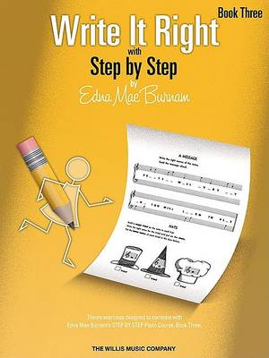Write It Right with Step by Step, Book Three book