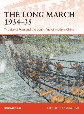 The Long March 1934-35 by Benjamin Lai