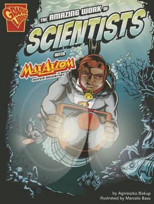 Amazing Work of Scientists with Max Axiom, Super Scientist book