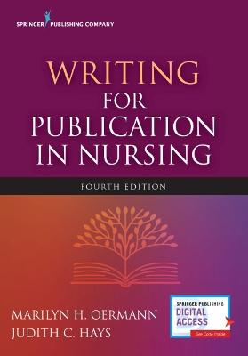 Writing for Publication in Nursing book