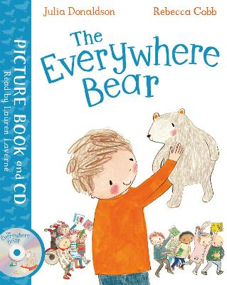 The The Everywhere Bear: Book and CD Pack by Julia Donaldson