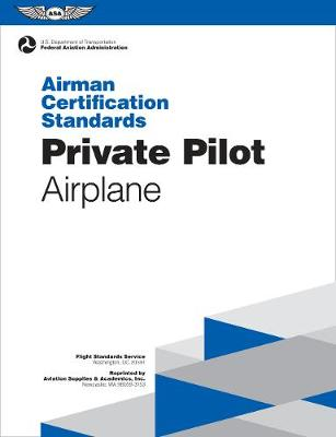 Private Pilot Airman Certification Standards - Airplane book