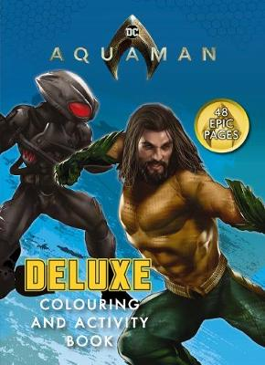 AQUAMAN DELUXE C&A book