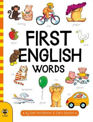 First English Words book