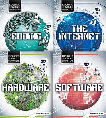 Exploring the World of Computers - Set of 4 by Frances Payne