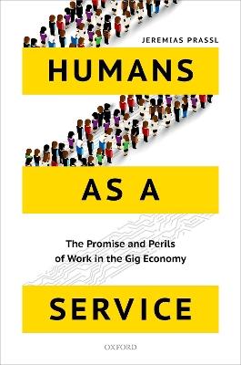 Humans as a Service by Jeremias Prassl