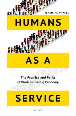 Humans as a Service by Jeremias Prassl