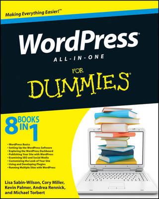 Wordpress All-in-One For Dummies by Lisa Sabin-Wilson