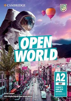 Open World Key Student's Book with Answers with Online Practice by Anna Cowper