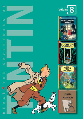 The Adventures of Tintin: Volume 8 (Compact Editions) by Herge