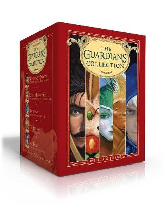 The Guardians Collection: Nicholas St. North and the Battle of the Nightmare King; E. Aster Bunnymund and the Warrior Eggs at the Earth's Core!; Toothiana, Queen of the Tooth Fairy Armies; The Sandman and the War of Dreams; Jack Frost by William Joyce
