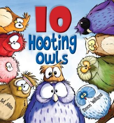 10 Hooting Owls by Ed Allen
