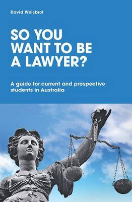 So You Want to be a Lawyer? book