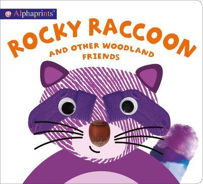 Alphaprints Rocky Raccoon book