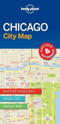 Lonely Planet Chicago City Map by Lonely Planet