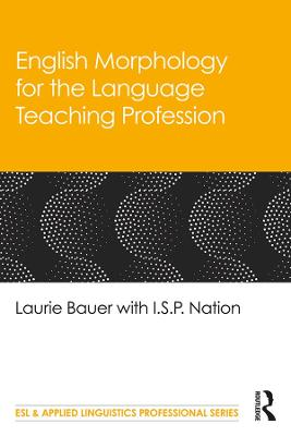 English Morphology for the Language Teaching Profession book