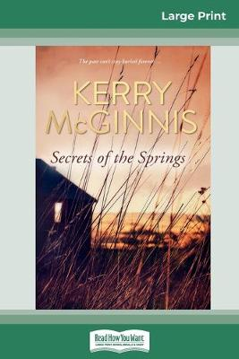 Secrets of the Springs (16pt Large Print Edition) by Kerry McGinnis