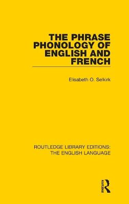 Phrase Phonology of English and French book