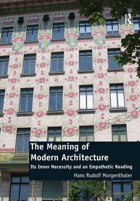 Meaning of Modern Architecture book