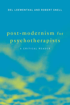 Post-modernism for Psychotherapists book
