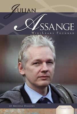 Julian Assange by Melissa Higgins