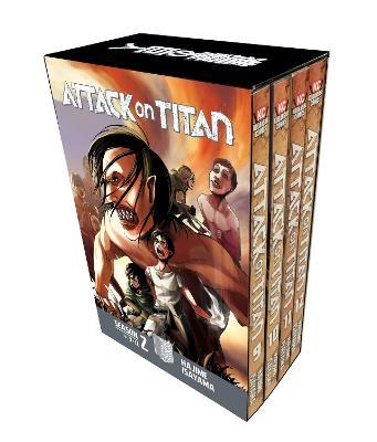 Attack On Titan Season 2 Manga Box Set book