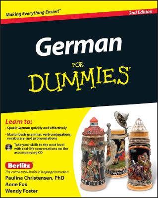 German for Dummies, 2nd Edition with CD by Wendy Foster