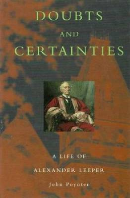 Doubts And Certainties by John Poynter