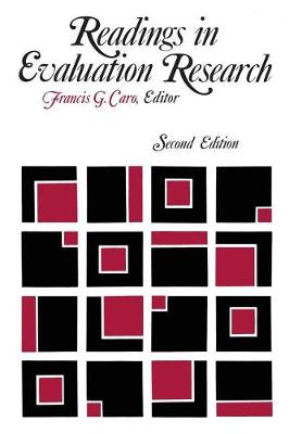 Readings in Evaluation Research by Francis G. Caro