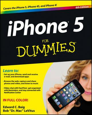 iPhone 5 For Dummies by Edward C. Baig