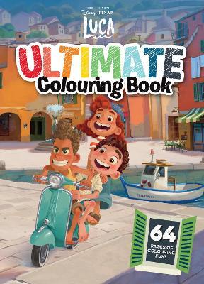 Luca Ultimate Colouring Book book