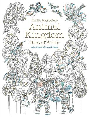 Millie Marotta's Animal Kingdom Book of Prints by Millie Marotta