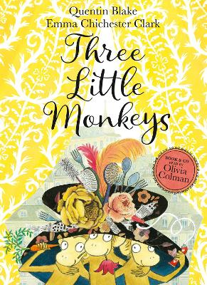 Three Little Monkeys: Book & CD by Quentin Blake