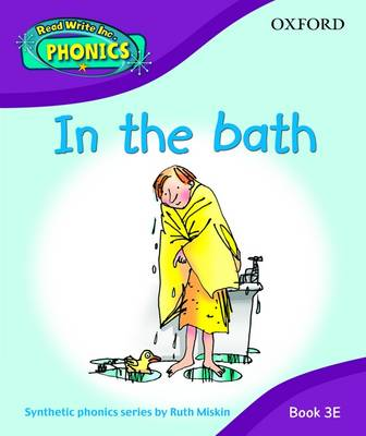 Read Write Inc. Home Phonics: in the Bath: Book 3E book