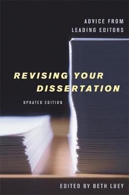 Revising Your Dissertation, Updated Edition book