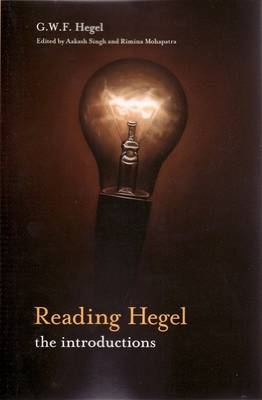 Reading Hegel: The Introductions by G. W. F. Hegel