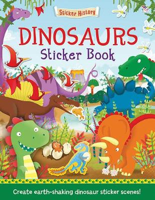 Dinosaurs Sticker Book by Joshua George