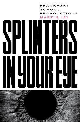 Splinters in Your Eye: Frankfurt School Provocations book