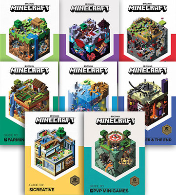 Minecraft Guide To - Set of 8 by Minecraft