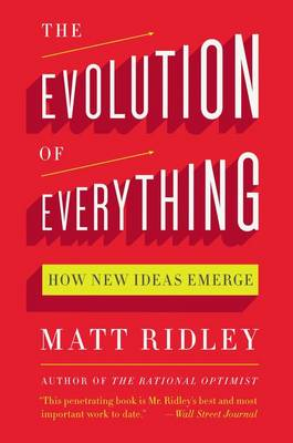 Evolution of Everything book
